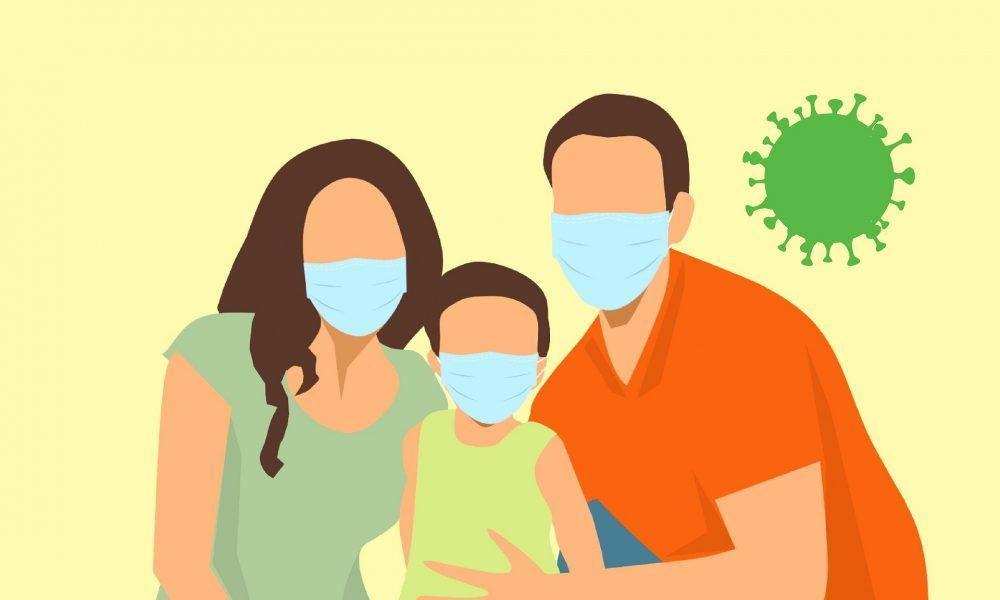 mascherini per bambini per protezione da Coronavirus