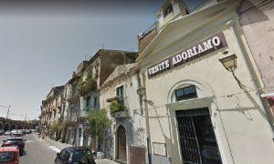 La Cappella con i resti della Chiesa del Santissimo Salvatore alla Marina di Catania. Foto: Google Maps