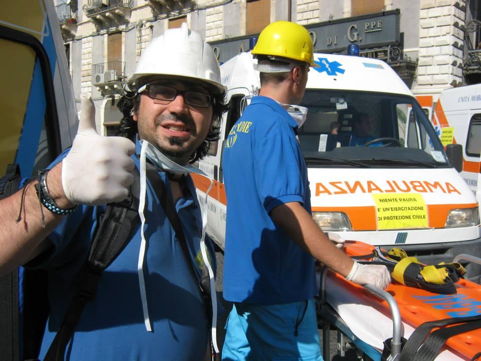 Andrea  Di Placido , ha affrontato tante difficoltà e conosciuto momenti emozionanti nel corso dei tanti anni spesi nel volontariato alla Misericordia.