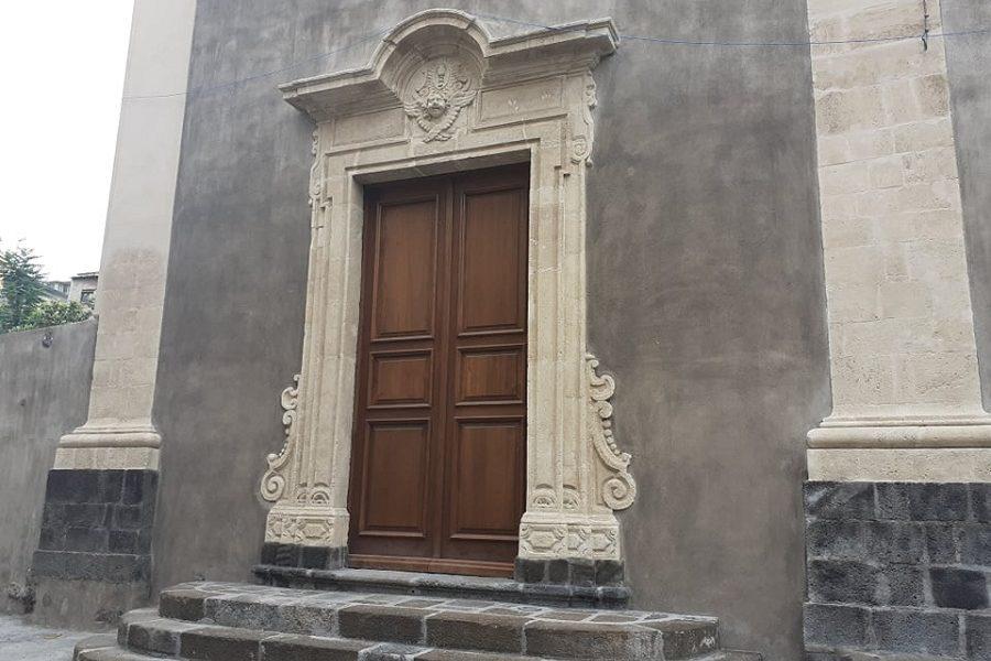 Chiesa di Santa Maria dell'Itria - ingresso restaurato. Foto di: Valentina Friscia