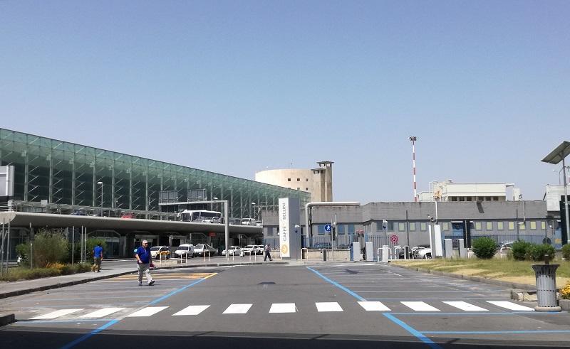 Fontanarossa esterno dell'aeroporto. Foto: sito dell'aeroporto