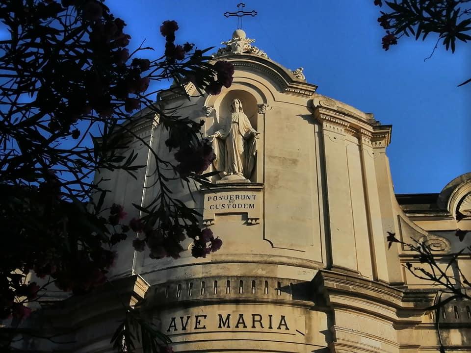 La bellissima facciata barocca della chiesa dell?immacolata Concezione ai Minoritelli, ordine religioso che si occupò dell'edificio.