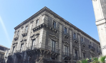 Palazzo Pardo a Catania - foto di: Valentina Friscia