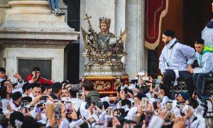 Sant'Agata d'agosto 2020 - sospesi i festeggiamenti agatini. Foto di: Salvo Puccio