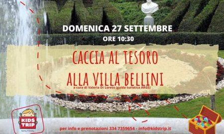 Caccia Al Tesoro Alla Villa Bellini