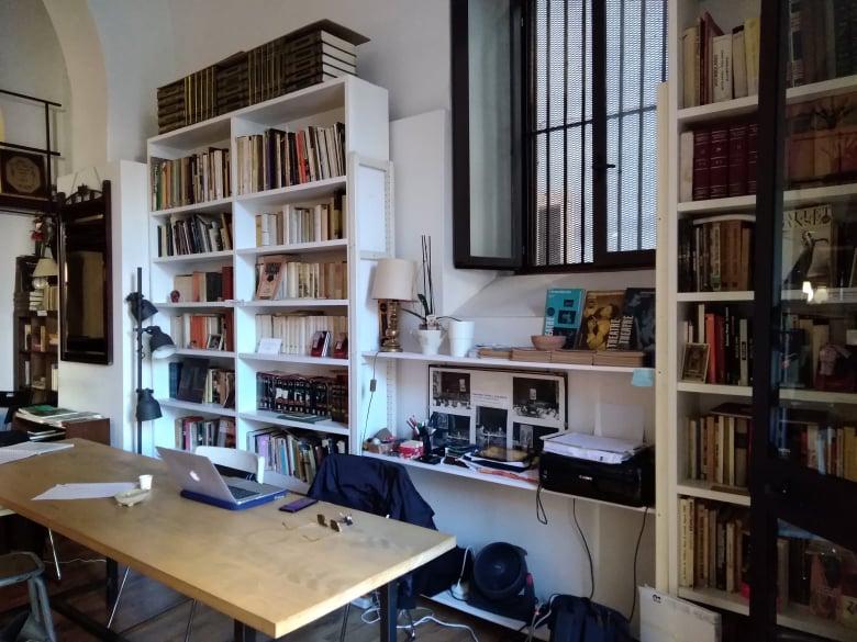 Area dell'Open allestita al coworking