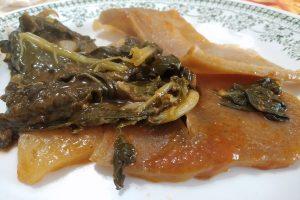 Un piatto di Cavoli e cotenna - Foto: Cavaleri Francesca Agat