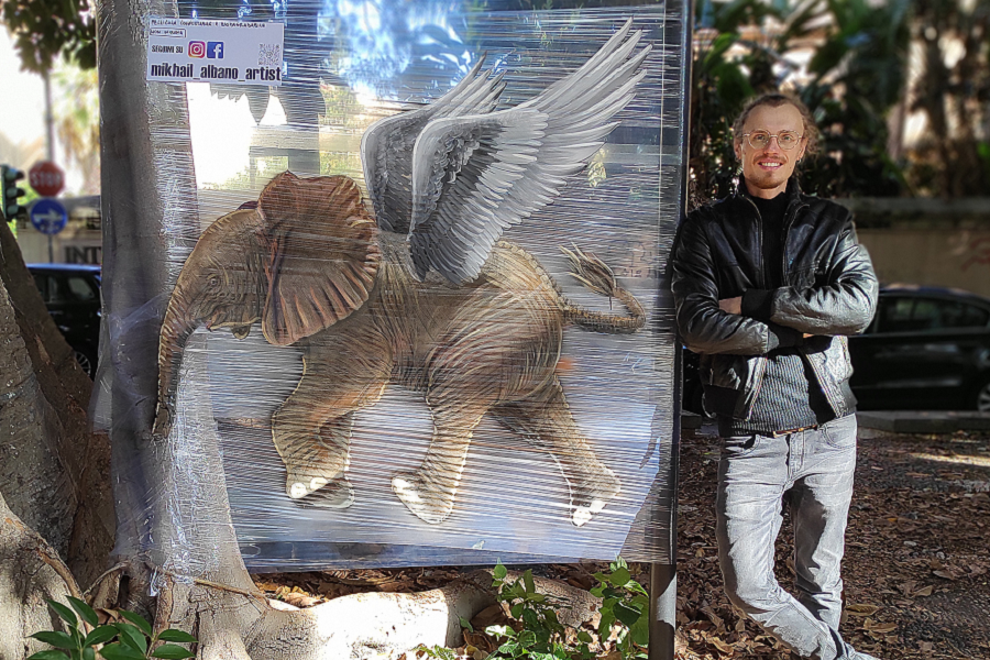 Liotru volante di Mikhail Albano