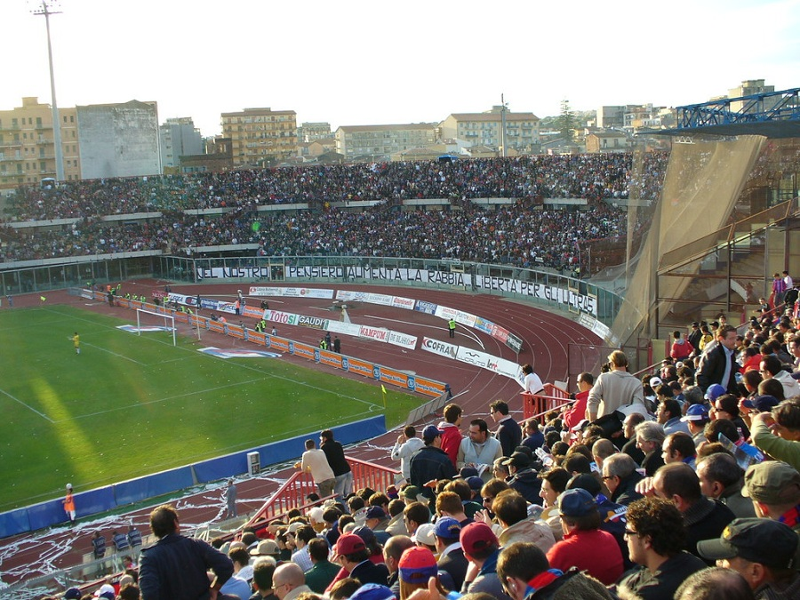 Stadio Angelo Massimino By Leandros World Tour Is Licensed Under Cc By 2.0