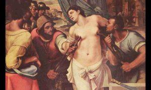 Martirio di Sant'Agata narrato in chiave femminile e femminista