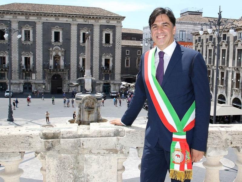 Salvo Pogliese, sindaco: Foto Facebook