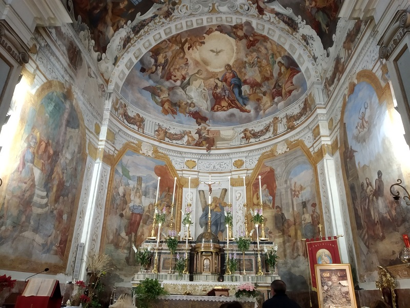 Sant'Agata al Borgo -L 'Altare - Foto: Cavaleri Francesca Agata
