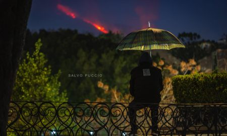 Etna in eruzione 2021