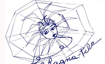 Logo del La Ragnatela, insieme di realtà contro la violenza sulle donne