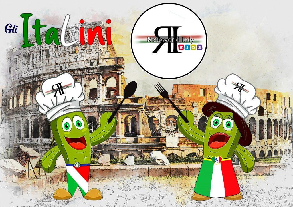 «ItaLino e la sua lei, la bella ItaLina, piante di cactus con in testa un cappello da chef – commenta l'ideatore Flavio Franceschino – indossano il tricolore, difendono la migliore produzione del Paese e trasmettono, con il sorriso, l'amore per la cucina.