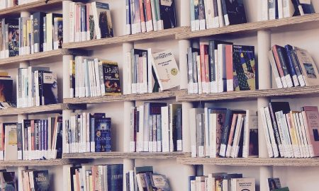 Maggio del libri 2021: una libreria piena di volumi - Foto: Pixabay