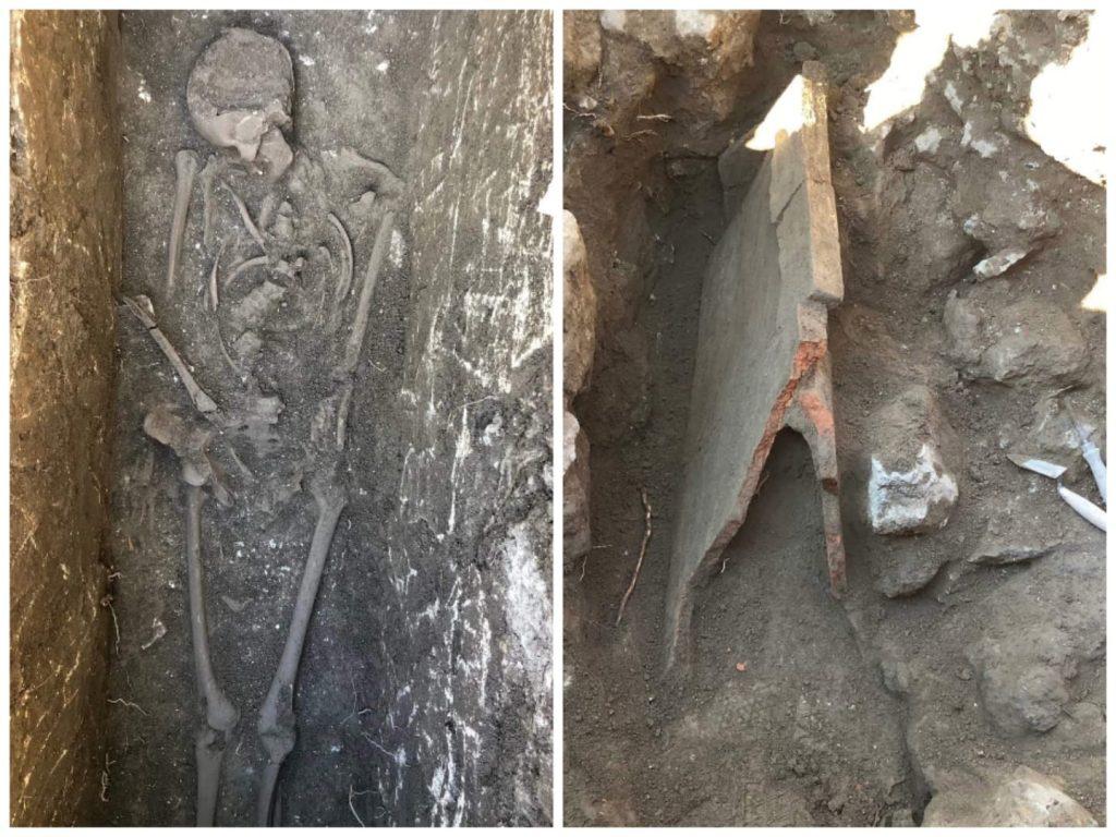 Tombe e resti della Catania romana in via Androne e via Battiato