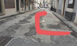 Tricora in via Santa Barbara a Catania. Foto di: Valentina Friscia