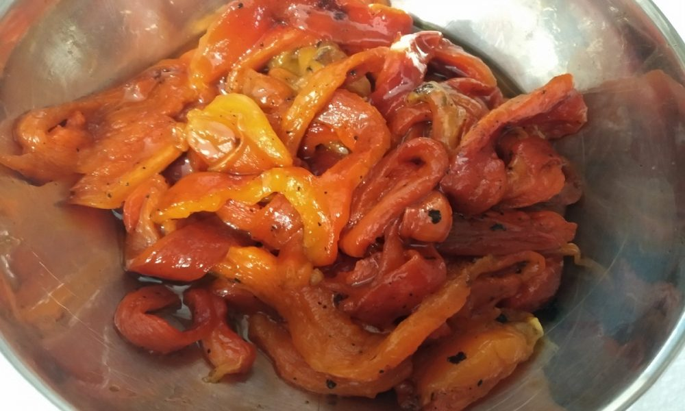 Pipi arrustuti: il piatto pronto - Foto: Cavaleri Fracesca Agata