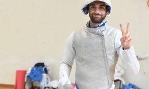Daniele Garozzo due volte campione olimpico nel fioretto