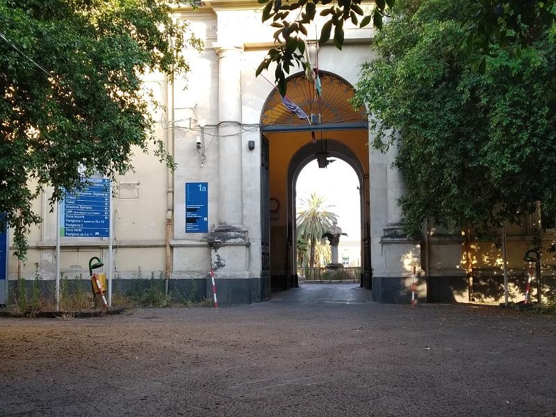 Museo Dell'Etna- ingresso ex Ospedale Vittorio Emanuele- Foto: Cavaleri Francesca Agata