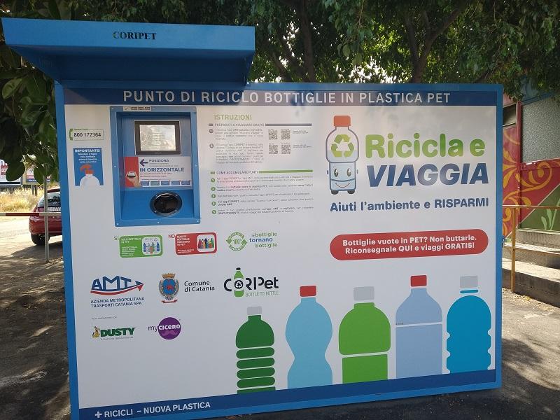 Ricicla e viaggia: la macchina di Piazza Sanzio- Foto: Cavaleri Francesca Agata