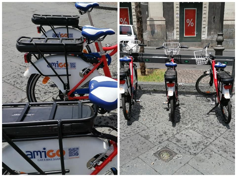 Il nuovo servizio di bike sharing, tanto auspicato dai cittadini, ha una delle sue postazioni di presa e scambio bike all'interno di Piazza Stesicoro.