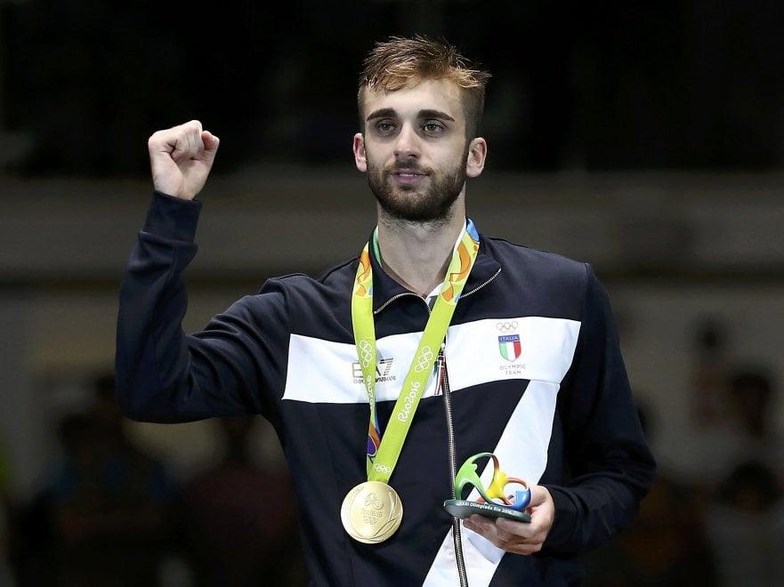 Daniele Garozzo ha conquistato la medaglia d'oro ai Giochi olimpici del 2016