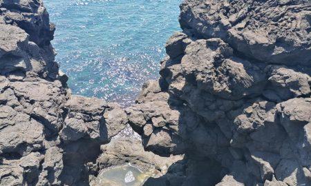 la pareidolia a Catania: lo Scoglio degli amanti
