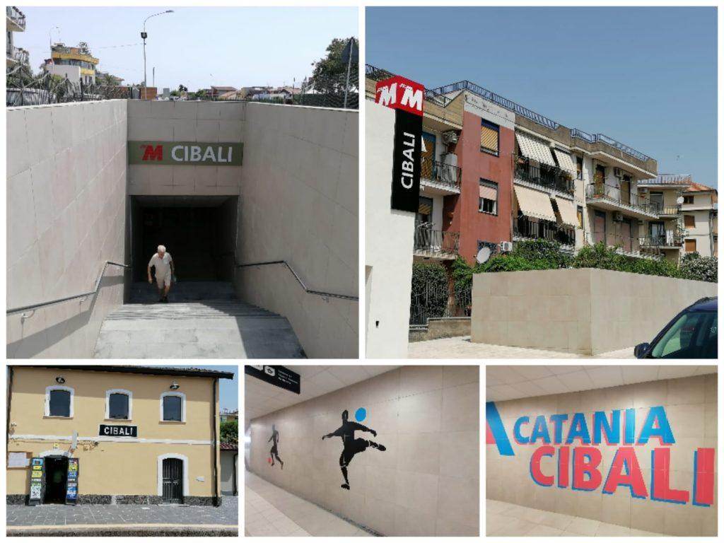 le nuove inaugurazioni hanno visto anche interventi di riqualificazione della stazione ferroviaria di Cibali.