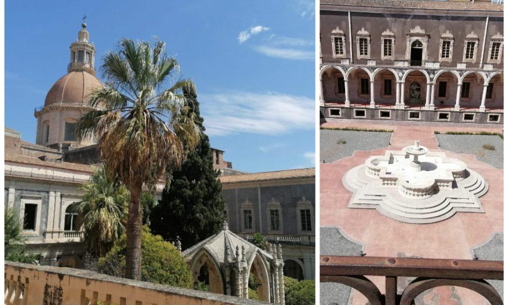 Chiostri Benedettini: così diversi e particolari raccontano la storia dell'edificio