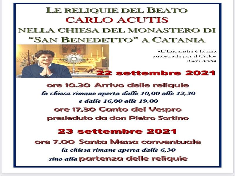 Beato Carlo Acutis: il programma completo delle celebrazioni catanesi - Foto: Cavaleri Francesca Agata
