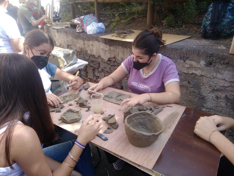 Festival del Disegno 2021: lavorazioni con l'argilla