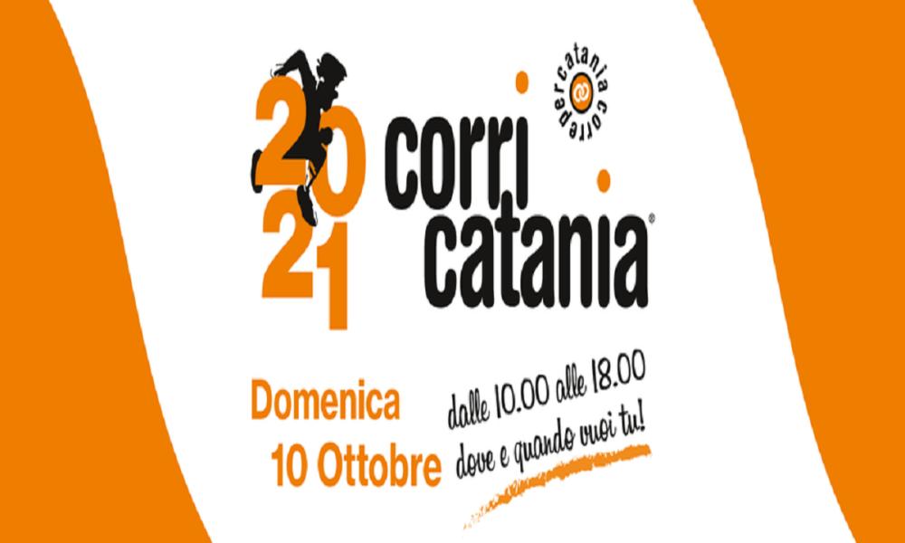 Corri Catania 2021: il logo dell'evento- Foto: pagina facebook