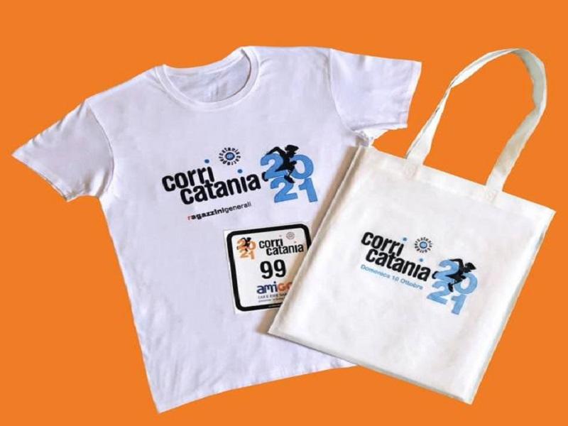 Corri catania 2021: il kit- Foto: sito ufficiale