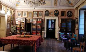 Il meraviglioso salone delle feste della Società Storica Catanese