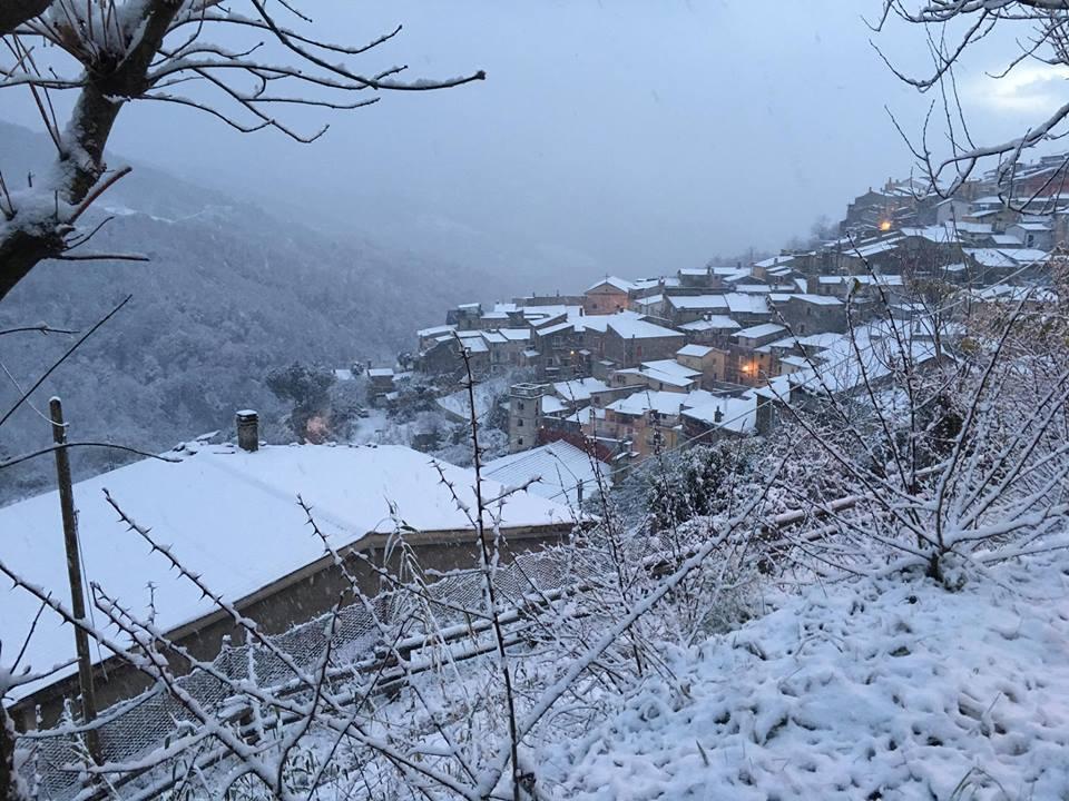 Scirubetta: la neve a conflenti