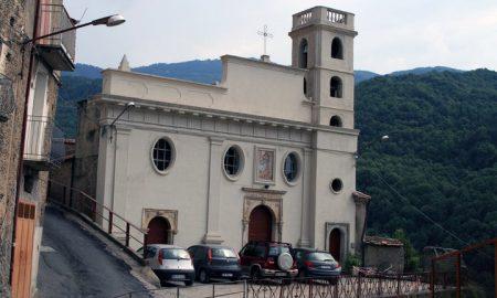 La facciata della chiesa dell'immacolata