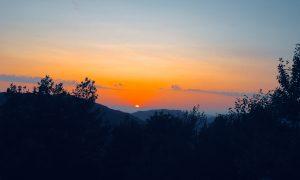Conflenti. Un tramonto,un desiderio, una speranza