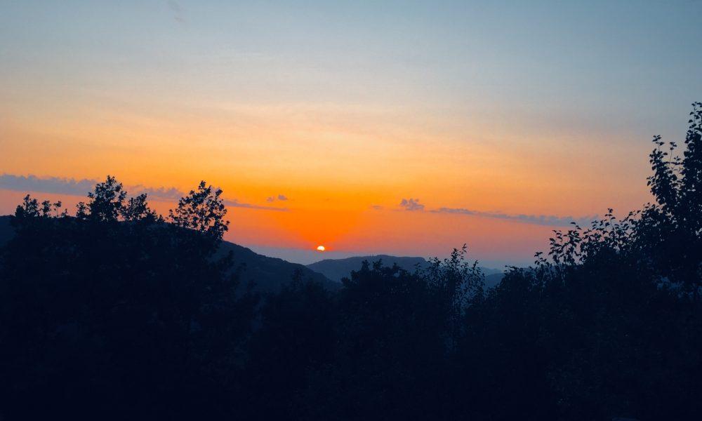 Conflenti, un tramonto, un desiderio, una speranza