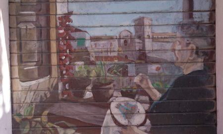 conflenti, murales