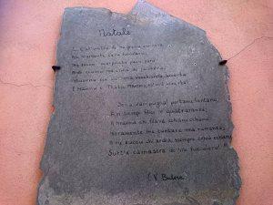 Le poesie di Butera nel paese.
