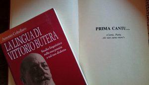 dialetto: Libro La Lingua di Vittorio Butera (2006) di Antonio Coltellaro.