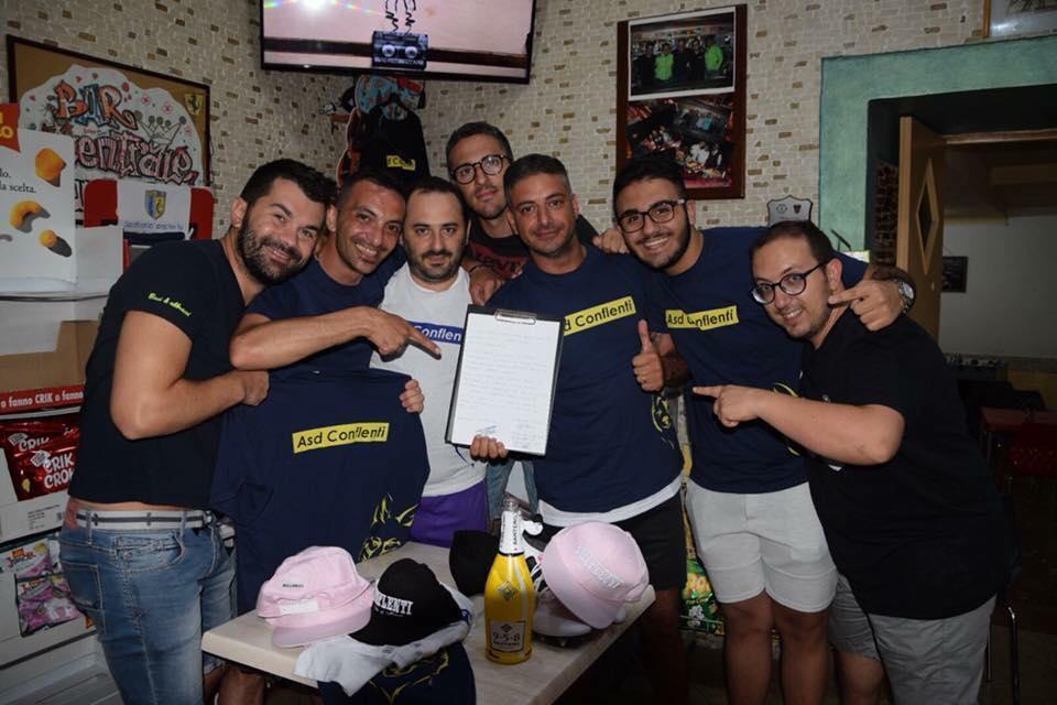 Asd Conflenti Con I Ragazzi Del Bdo Group