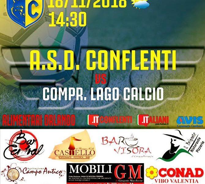 Asd Conflenti Vs Compr. Lago Calcio