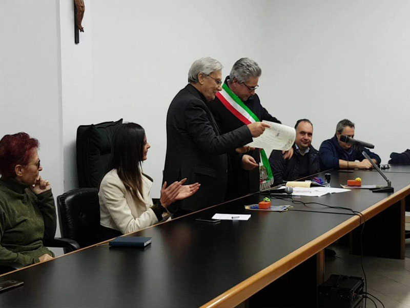 Scalise Cittadinanza Onoraria A Conflenti