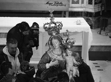 7 Febbraio: la statua della Madonna
