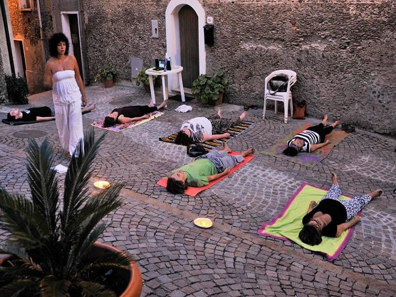 u Chjianiattu e una lezione di Yoga