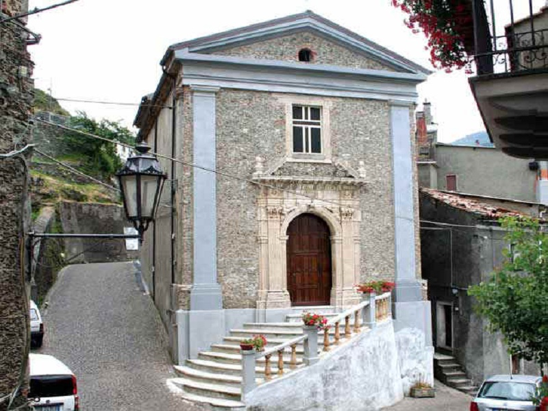 chiesa del loreto: La zona da madonna u ritu oggi.