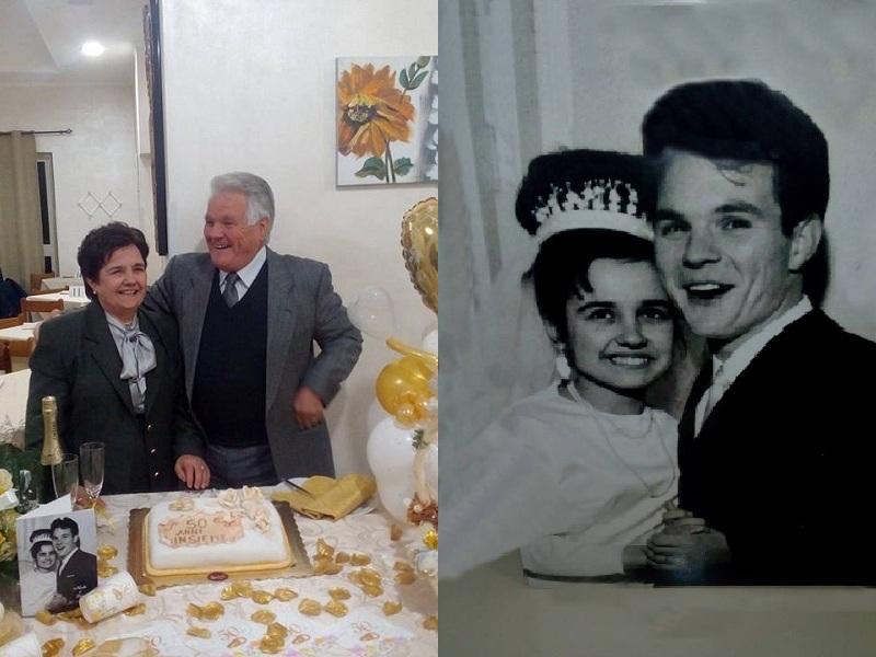 San Valentino. 50 anni Nicola E Lina